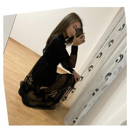 Елегантна дамска рокля като риза