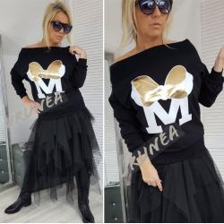 Поля и блузка комплект URUNEA