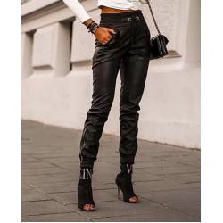 Кожени панталони дамски