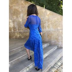 Low High дантелена рокля