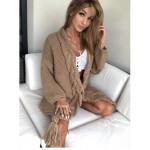 Плетена кежуал жилетка