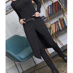 Черен пола-панталон