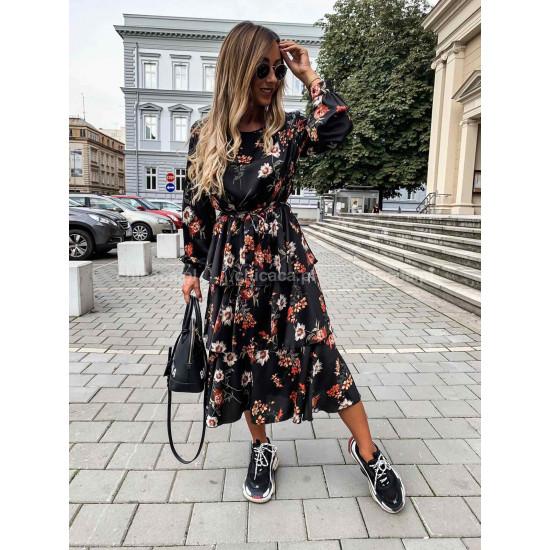 Дълга рокля флорали
