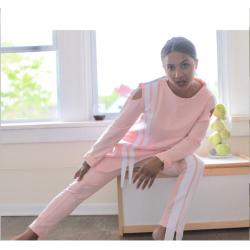 Панталон и асиметрична блуза в комплект