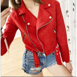 Дамско велурено яке