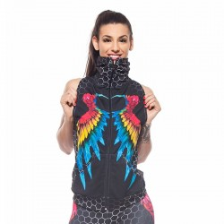Дамски Елек EX FIT Training Vest Colorful Wings