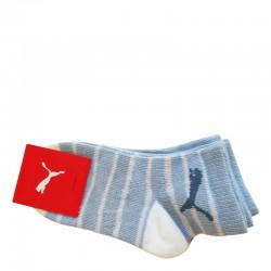 Бебешки Чорапи PUMA Socks 2 Pack Powder Blue