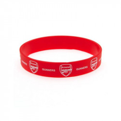Силиконова Гривна ARSENAL Silicone Wristband
