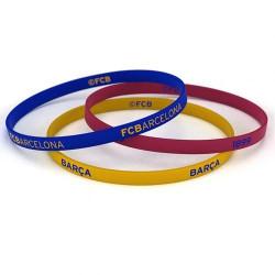 Комплект Силиконови Гривни BARCELONA 3 Pack Silicone Wristbands