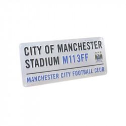 Табела MANCHESTER CITY Stadium Sign 40х18cm