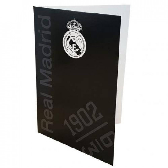 Картичка REAL MADRID Greetings Card BK