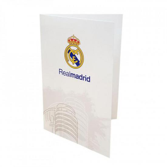 Картичка REAL MADRID Greetings Card WT