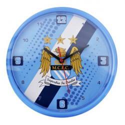 Стенен Часовник MANCHESTER CITY Wall Clock