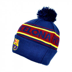 Зимна Шапка BARCELONA Text Cuff Knitted Hat