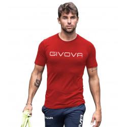 Мъжка Тениска GIVOVA T-Shirt Spot 0012