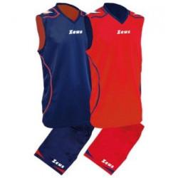Детски Баскетболен Екип ZEUS Reversible Kit Basket Fauno 0106