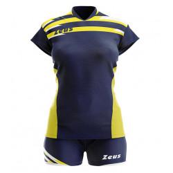 Детски Волейболен Екип ZEUS Kit Itaca Donna 010916