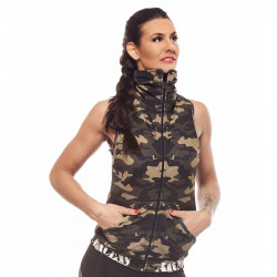Дамски Елек EX FIT Training Vest Camouflage