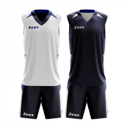 Двулицев Баскетболен Екип ZEUS Reversible Kit Jam