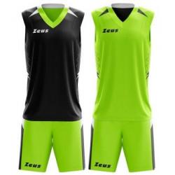 Детски Двулицев Баскетболен Екип ZEUS Reversible Kit Jam