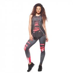 Дамски Троен Комплект EX FIT Training Kit Red Muscle