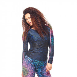 Дамска Блуза EX FIT Running Top Mandala