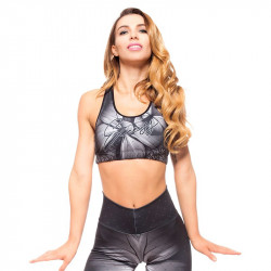 Дамско Бюстие EX FIT Sports Bra Gtay Butterfly