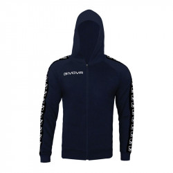 Мъжки Суичър GIVOVA Felpa Full Zip Band 0004