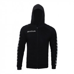 Мъжки Суичър GIVOVA Felpa Full Zip Band 0010