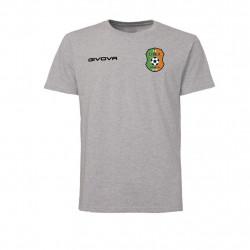 Детска Тренировъчна Тениска LITEX Givova T-Shirt Fresh 0043