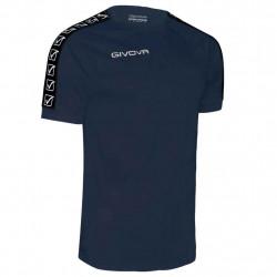 Мъжка Тениска GIVOVA T-Shirt Cotton Band 0004