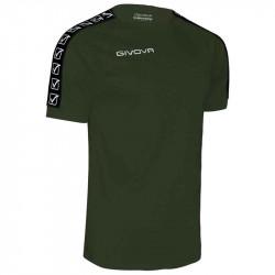 Мъжка Тениска GIVOVA T-Shirt Poly Band 0051