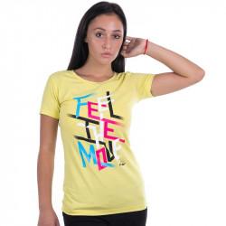 Дамска Тениска FLAIR Insta T-Shirt