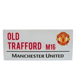 Табела MANCHESTER UNITED Street Sign 40х18cm