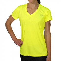 Дамска Тениска MORE MILE M-Tech Dry Ladies Short Sleeve Running Top