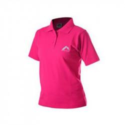 Дамска Тениска MORE MILE Short Sleeve Ladies Polo Shirt