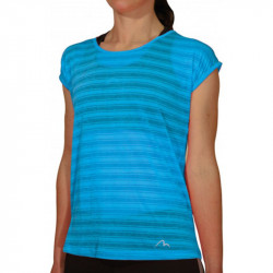 Дамска Тениска MORE MILE Breathe Short Sleeve Ladies Training Top