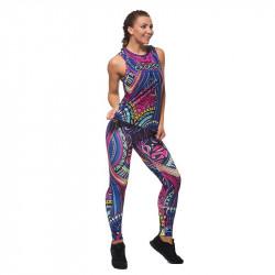 Дамски Комплект Клин / Бюстие / Топ EX FIT Colorful Maori