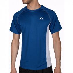 Мъжка Тениска MORE MILE Mesh Panelled Short Sleeve Mens Running Top