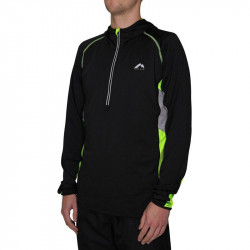 Мъжка Блуза MORE MILE More-Tech Half-Zip Mens Running Hoody