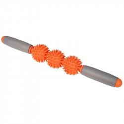 Ръчен Масажор MORE MILE Supreme Spikey 3 Ball Massage Stick