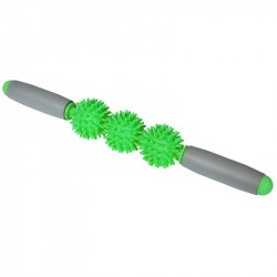 Ръчен Масажор MORE MILE Supreme Spikey 3 Ball Massage Stick