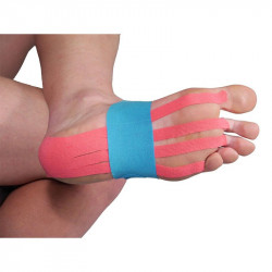 Кинезио Лента MORE MILE Pre-Cut Foot Support Kinesiology Tape