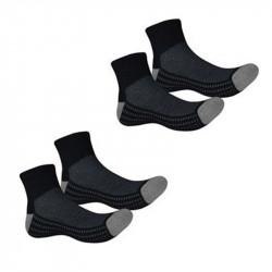 Комплект Мъжки Чорапи MORE MILE Cadeo Coolmax Twin Pack Running Socks