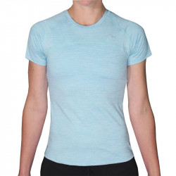 ДетскаТениска MORE MILE Heather Short Sleeve Girls Running Top