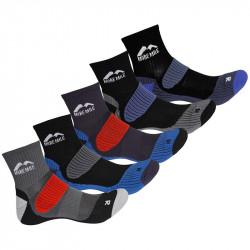 Комплект Детски Чорапи MORE MILE Cheviot Trail Running Socks - 5 Pack