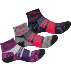 Комплект Детски Чорапи MORE MILE Endurance Running Junior Socks - 3 Pack