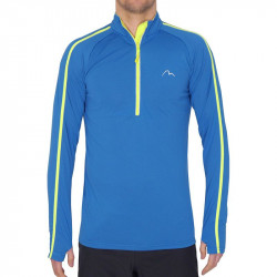 Детска Блуза MORE MILE Hi Viz Half Zip Junior Running Top