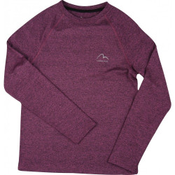Детска Блуза MORE MILE Girls Long Sleeve Running Top
