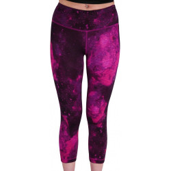 Дамски Двулицев Клин MORE MILE Graphic Womens 7/8 Long Training Tights